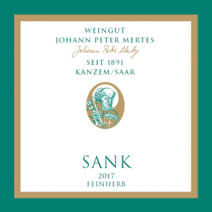 2017 Sank Spätlese – Alte Reben