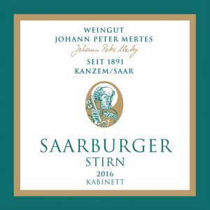 2016 Saarburger Strin Kabinett