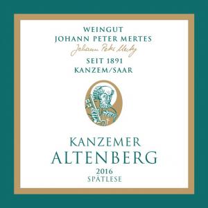 2016 Kanzemer Altenberg Spätlese