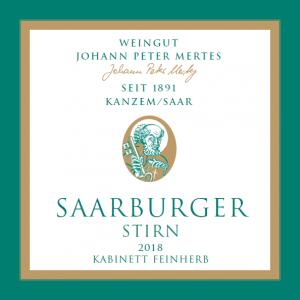 2018 Saarburger Stirn Riesling Kabinett