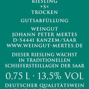 2018 Wawerner Goldberg Riesling