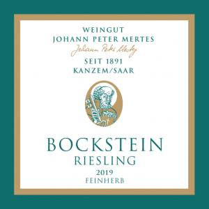 2019 Bockstein Riesling feinherb