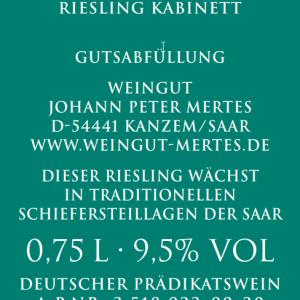 2019 Ockfener Bockstein Riesling Kabinett