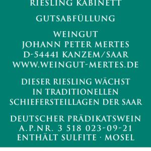 2020 Ockfener Bockstein Kabinett