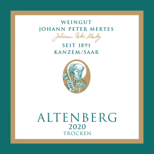 2020 Kanzemer Altenberg Riesling Spätlese Alte Reben